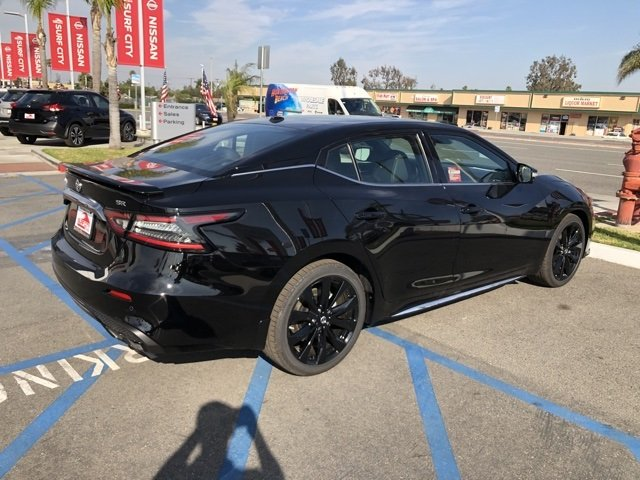 New 2019 Nissan Maxima SR 4dr Car In Huntington Beach