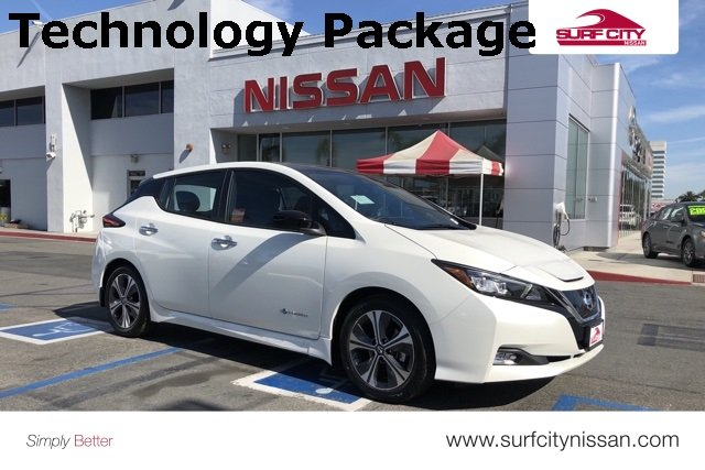 New 2019 Nissan LEAF SV Hatchback In Huntington Beach