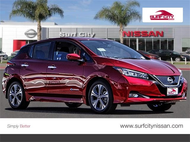 New 2019 Nissan Leaf Sv Hatchback In Huntington Beach 46662 Surf