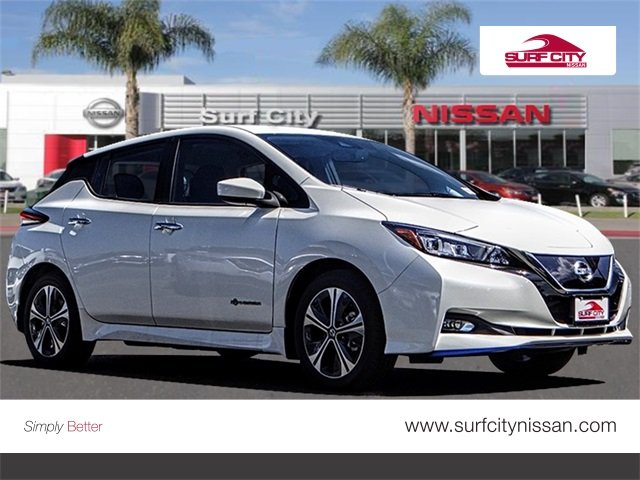 New 2019 Nissan Leaf Sv Plus Hatchback In Huntington Beach 46655