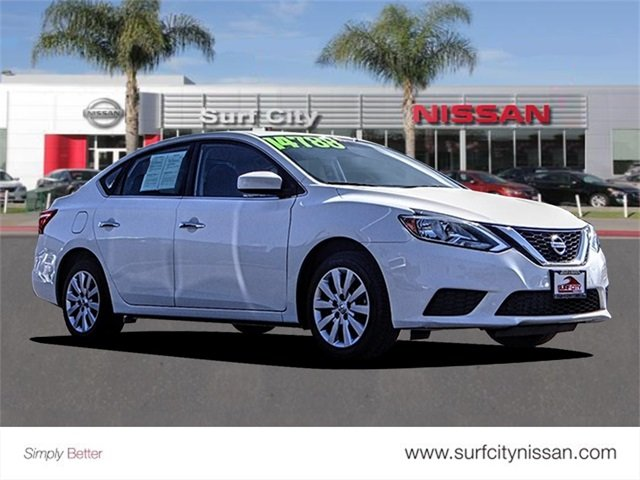 Mid City Nissan >> Certified Pre Owned 2017 Nissan Sentra Sv 4dr Car In Huntington