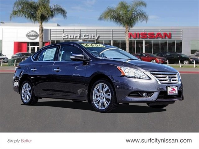 Mid City Nissan >> Pre Owned 2015 Nissan Sentra Sl 4dr Car In Huntington Beach P21414