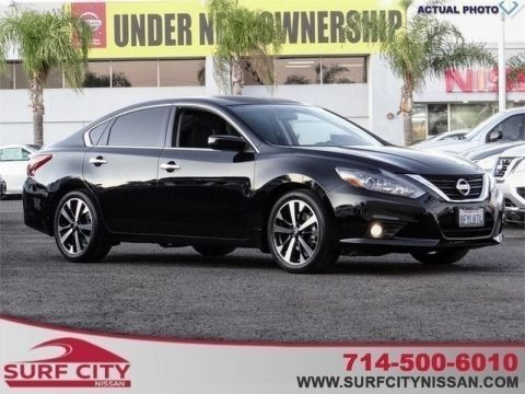 Certified Pre-Owned 2018 Nissan Altima 2.5 SR